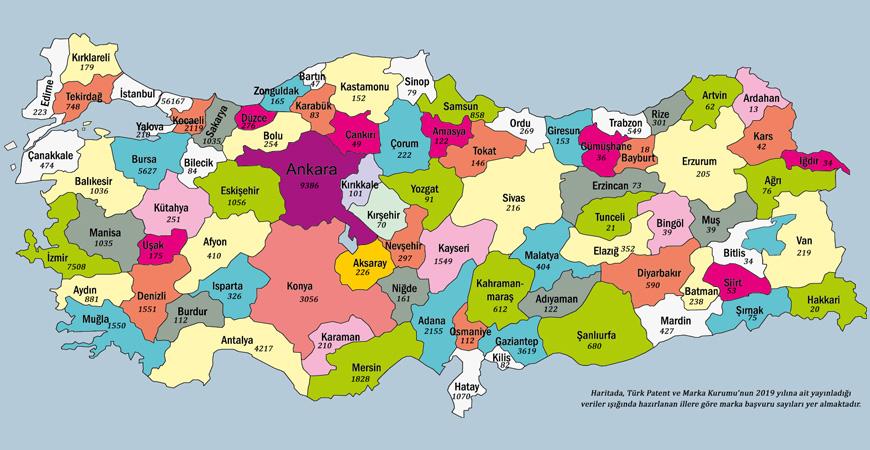 Türkiye'nin Marka İstatistikleri